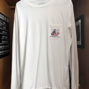 Vineyard Vines New Years Long Sleeve Shirt